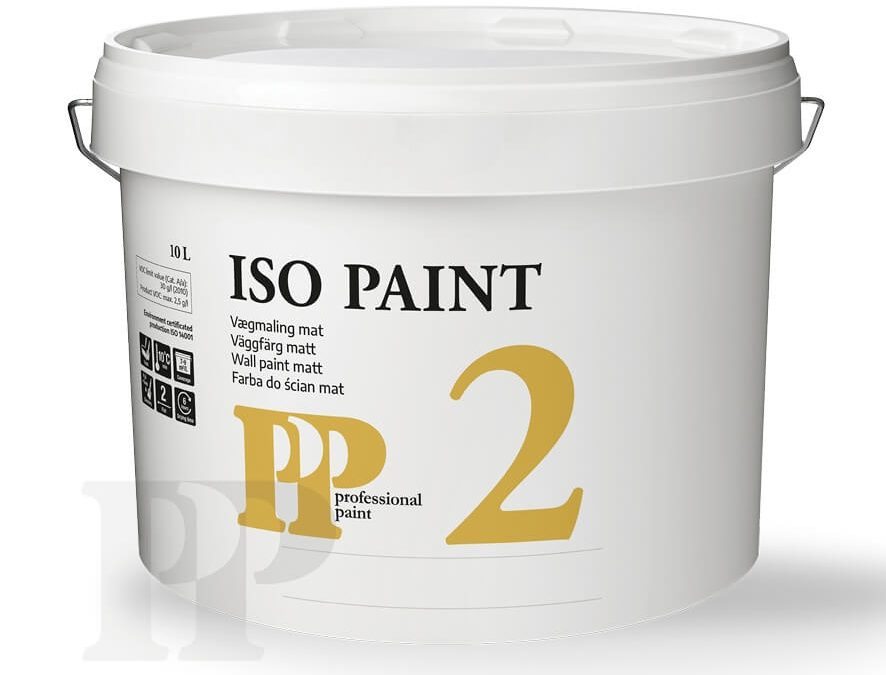 PP Iso Paint 2, Isolermaling glans 2 – hvid