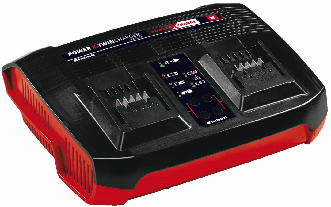 Oplader 18 V P-X-C Twin