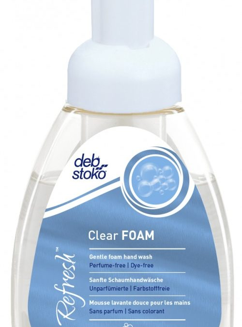 Refresh Clear Foam skumsæbe 250 ml flaske med pumpe
